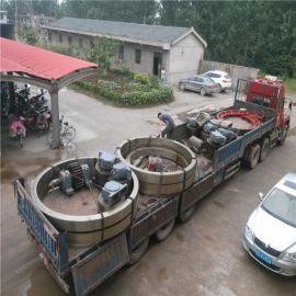 1.8x12米回转式滚筒烘干机轮带(滚圈)