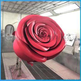 艺术品金属装饰双曲玫瑰花双曲铝单板