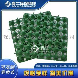 吉安塑料蓄排水板 小区绿化种植凹凸蓄排水板