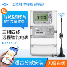 分散式园区电表 江苏林洋DTZY71-G三相GPRS智能电表 送抄表系统