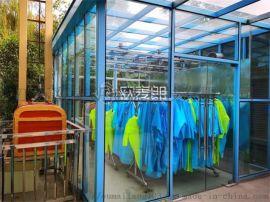 欧麦朗空气能热泵助力芜湖方特雨衣烘干项目