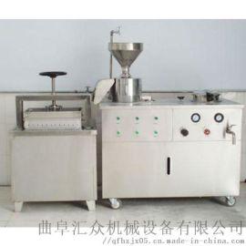 小型全自动压豆腐的机器 全自动豆腐皮机 利之健食品