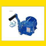 HM型TKK手搖絞盤,棘輪手柄,內置機械制動器