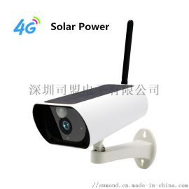 4G太阳能摄像头智能IP67防水室外网络摄像头