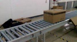 动力滚道线 载重转弯滚筒输送机 Ljxy 动力式滚