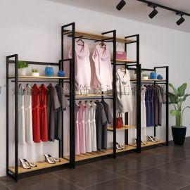 服装服饰店货架展示架 女装店货架 饰品货架厂家