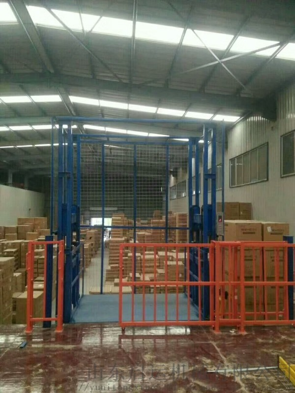 固定載貨升降機啓運撫順市定製貨梯倉庫卸貨平臺