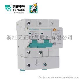 天正电气 空气开关 TGB1NLE-125 2P C  63A-125A 30mA-300mA微型漏电保护断路器