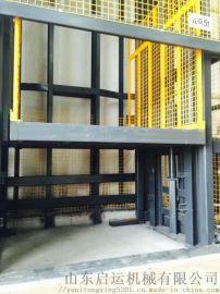 下城区仓库货运机械固定起重机载货液压平台