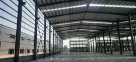 供应佛山禅城钢结构厂房搭建宝钢Q235