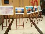 上海少兒油畫繪畫架出租、松木畫架、木頭畫架