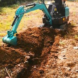 轮式小型挖掘机 3万以下小挖机 六九重工 农用开槽