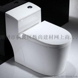 广东潮州  马桶厂家连体坐便器坐厕座厕贴牌厂家直销