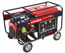 工程施工300A汽油发电电焊机