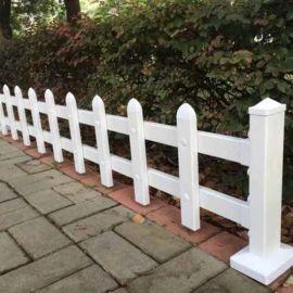广西柳州户外栅栏围栏 防护栏杆pvc护栏