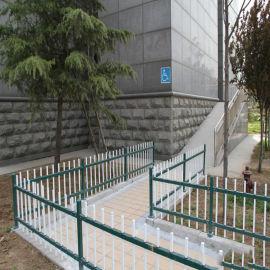 塑料草坪栏杆 护栏塑钢