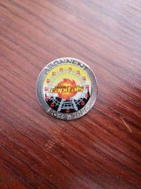 金属印刷徽章,游乐园纪念徽章, 深圳金属胸针制作
