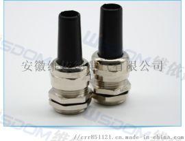 耐扭型铜制电缆固定头5P-M12_ 昆山维依德供应