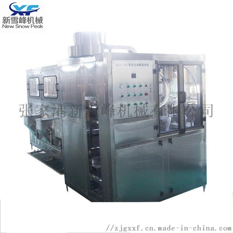 全自動液體灌裝機 5加侖大桶礦泉水生產線