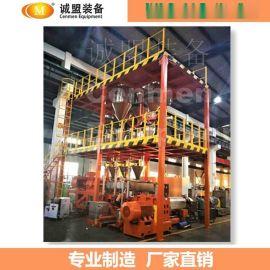 低烟无卤阻燃电缆料混炼挤出造粒机厂家 南京诚盟
