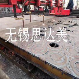 特厚钢板零割法兰,钢板切割轴承座,厚板零割厂家