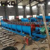 新品洗砂機設備 螺旋式洗砂機 山河沙洗砂機生產線
