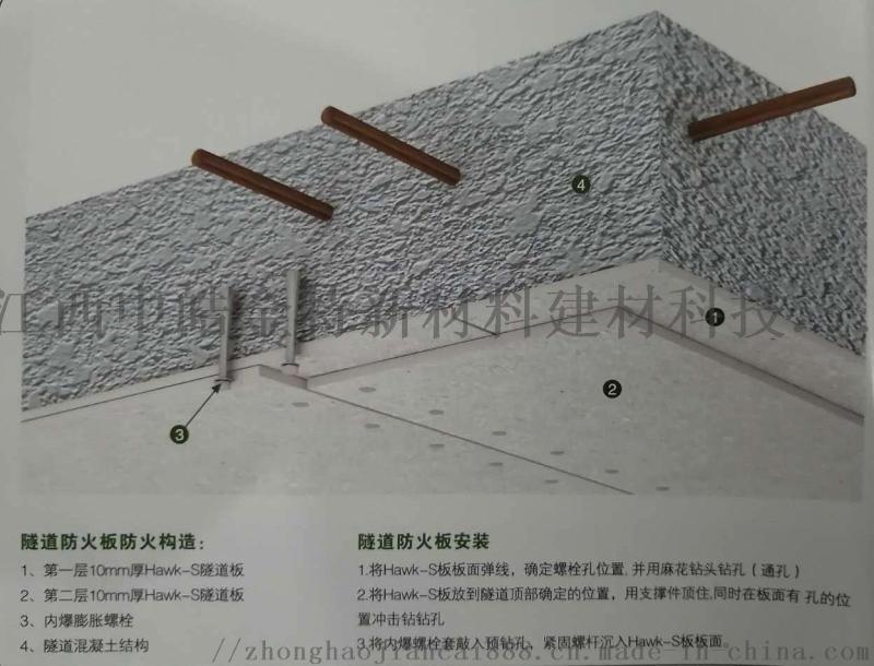 隧道防火板/隧道保护板/隧道板