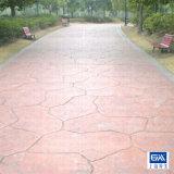 水泥压膜地面 彩色水泥压膜地面 水泥压膜地面施工