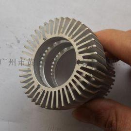 大功率散熱器鋁型材梳子電子散熱器定制加工