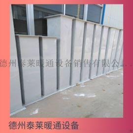 造纸厂玻璃钢通风管道2有机玻璃钢风管