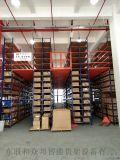 倉儲閣樓貨架廠家定製多層組合倉庫隔層架