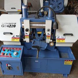 GB4220金属带锯床 液压半自动带锯床