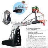 豪華型智慧電動液壓籃球架