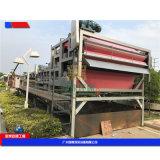 车载污泥深度脱水设备,大型设备河沙泥浆处理设备