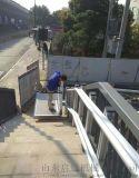 地鐵安裝爬樓機青島啓運銷售斜掛電梯無障礙升降臺