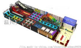 金桔游乐淘气堡厂家大型蹦床儿童游乐设施亲子教育