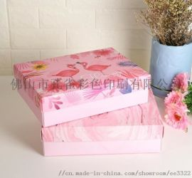 彩色飛機盒定做特硬牛皮紙漢服服裝盒水果茶包裝盒廠家定製報價