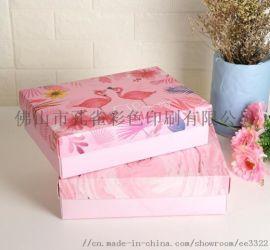 彩色飞机盒定做特硬牛皮纸汉服服装盒水果茶包装盒厂家定制报价