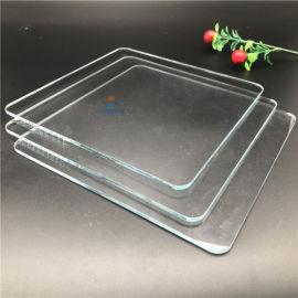 玻璃厂加工定做2-19mm超白钢化玻璃 丝印加工