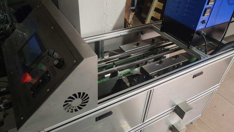 食品封盒机 巧克力封盒机等自动热熔胶封盒机