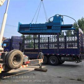 福建大型棉花打包机厂家直销 全自动卧式液压打包机