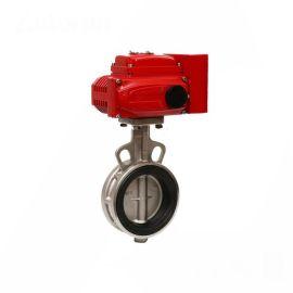 进口不锈钢电动蝶阀-IP65-不锈钢-304