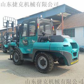 4吨内燃叉车柴油叉车厂家 四驱动力越野叉车定金发货