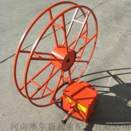龙门吊行车电缆卷筒 发条电动式卷线器 移动供电卷筒