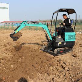 捷克 多功能小型履带挖掘机 农用树坑小挖机