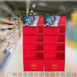 服裝陳列架落地紙貨架超市紙展示架內衣紙貨架