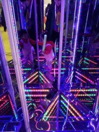 网红游乐设备,流光隧道迷宫,彩虹滑道,景区游乐设备
