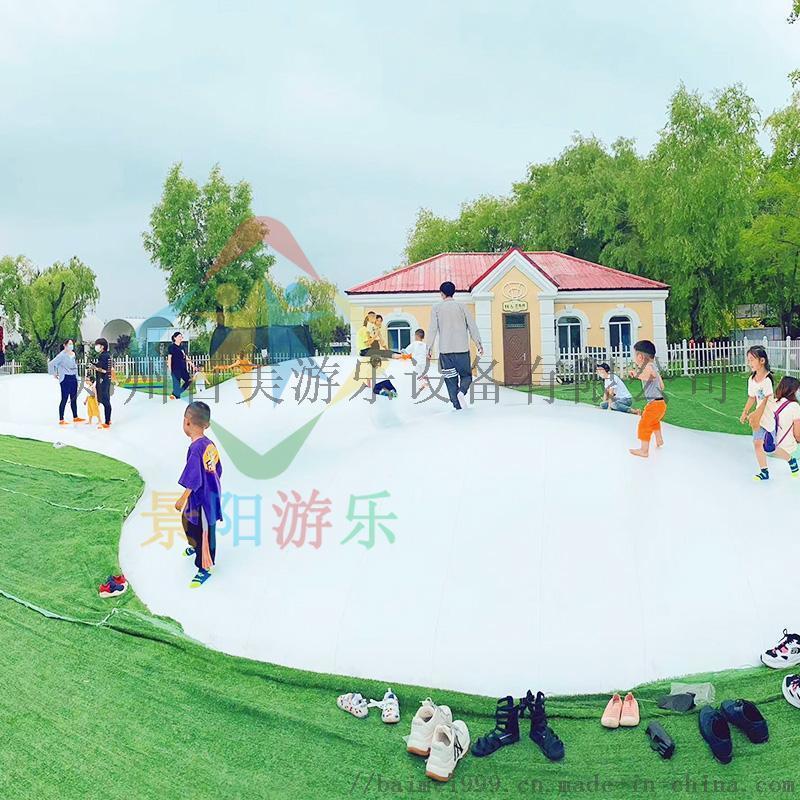 广西桂林景区网红蹦蹦云充气云朵跳跳云乐园