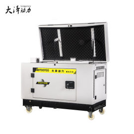 单三相6千瓦静音汽油发电机