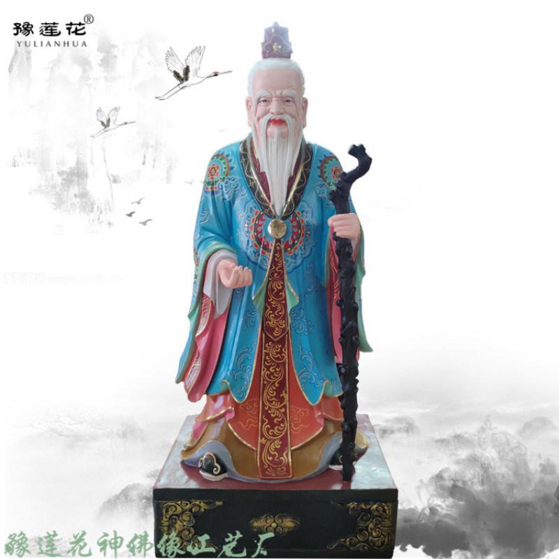 福禄寿三星图片大全 河南佛像厂家 南极仙翁雕塑